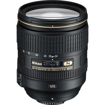 Rent Nikon 24-120mm f4 VR Lens
