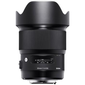 Rent Sigma 20mm F1.4 ART lens