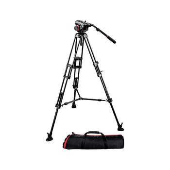 Rent Manfrotto 504HD Head with 546BK 2-Stage Aluminum Tripod