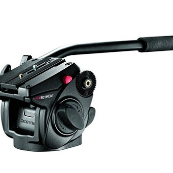Rent Manfrotto 501HDV Video Head w/ 190XPROB 3-Section Aluminum Tripod legs