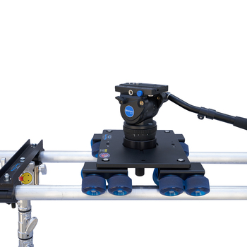 Rent Dana Dolly Kit w/ x2 Combo Stands, Benro BV10 Head, & Rails