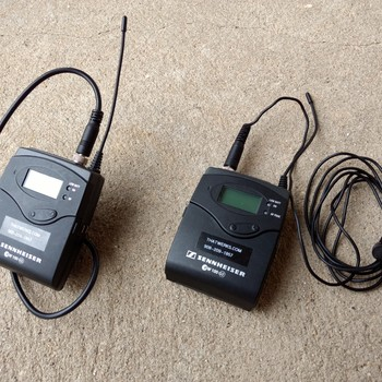 Rent Sennheiser ew 100-ENG G3 lavalier microphone