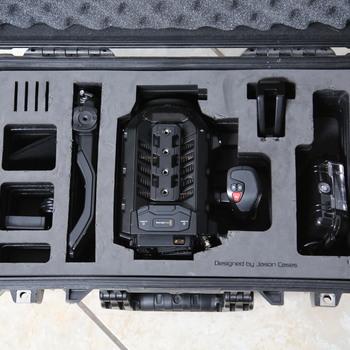 Rent Blackmagic URSA Mini 4.6K w/ Shoulder Kit, Batteries, Media