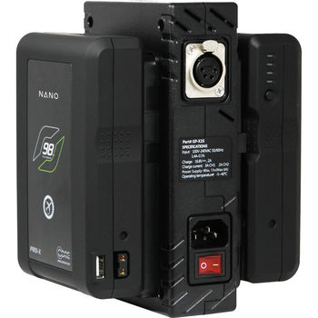 Rent (2) 98Wh V Mount Batteries and Simultaneous Charger
