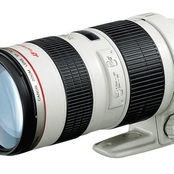 Rent Canon 70-200 2.8L with hood and rear lens cap-awesome lens!