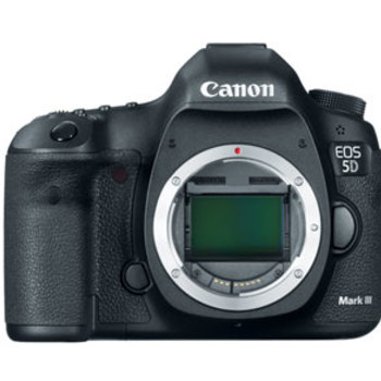 Rent Super Clean 5D Mark III body with cap, 2 batteries, charger, and strap