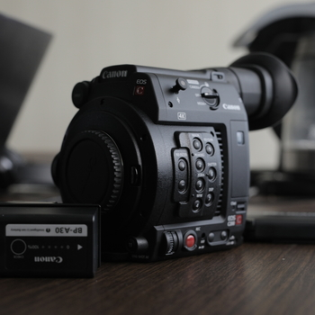 Rent Canon EOS C200 w/ 2 CFAST Cards, 3 Batteries,  and Shoulder Mount