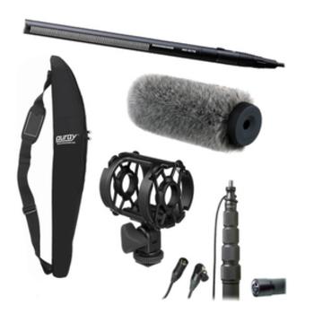 Rent Shotgun Mic and Boom Kit