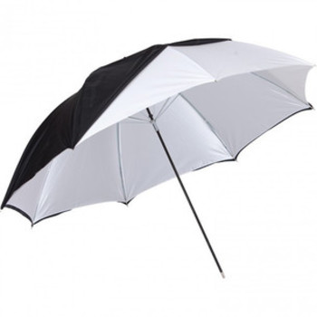 "Rent Westcott 32"" Umbrella - White Satin/ Black"
