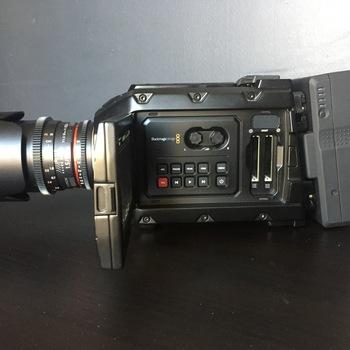 Rent Blackmagic Ursa Mini 4.6K Camera w/ Rokinon Cine DS Prime Lens Kit