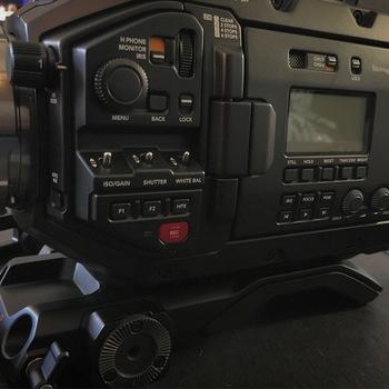 Rent Blackmagic Ursa Mini Pro 4.6K PL Package W/ Tripod (Lenses separate)
