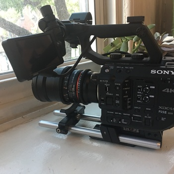 Rent The new FS5-M2 (with Sony's Venice color science and raw output)