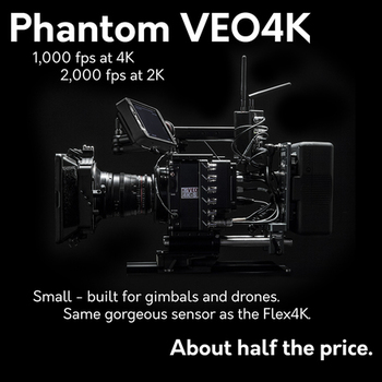 Rent Phantom Veo4K w/ Extensive Kit