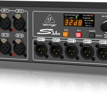 Rent Behringer S16 Digital Snake I/O Box