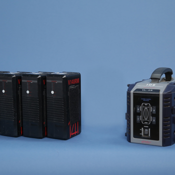 Rent 4 V-mount Batteries with Charger