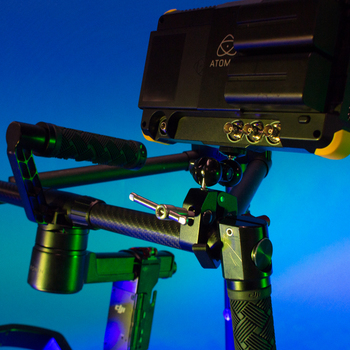 Rent DJI Ronin-M w/ Atomos 7-in 4K Recorder Monitor