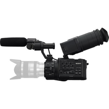 Rent FS100 with canon lens adapter and set of canon lenses