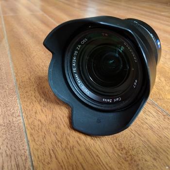 Rent Sony 24-70mm f/4 Vario-Tessar T FE OSS Interchangeable Full Frame Zoom Lens