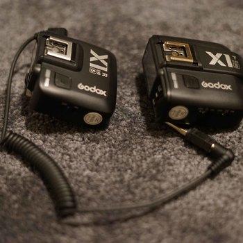 Rent Godox X1T-S and Godox X1R-S Wireless Flash Trigger Transmitter for Sony Alpha Series