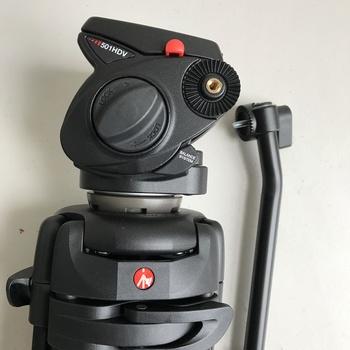 Rent Manfrotto 501 HDV fluid head w/545B tripod