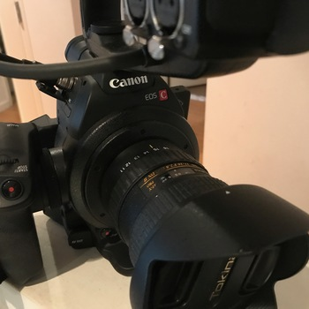 Rent Canon C100 with 2 Lenses