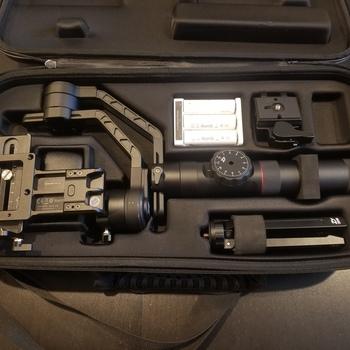 Rent Zhiyun-Tech Crane 2 with Dual Grip Handle