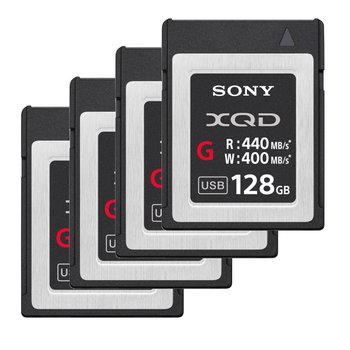 Rent Sony 128gb XQD G Memory Cards Qty -4