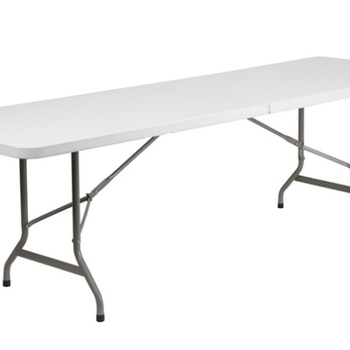 Rent 6- 6ft. White Folding Table