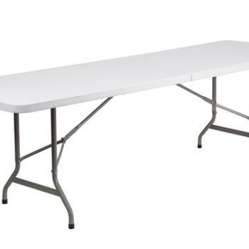 Rent 5- 8ft. White Folding Table