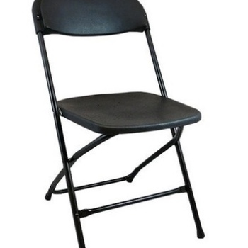 Rent 22- black folding chairs