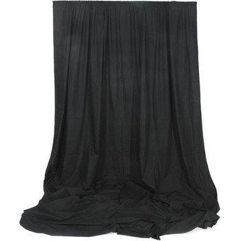 Rent Black Muslin Background 10′ x 12′