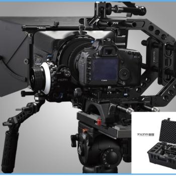 Rent Tilta Universal Handgrip & Baseplate with Rods Camera Shoulder Support