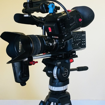 Rent Sony FS100 with Metabones Adapters, Canon EF and FD Lenses, Zacuto EVF, and Sachtler Tripod