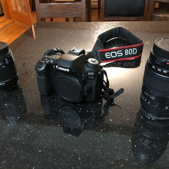 Rent Canon 80D along with Standard, and Telephoto