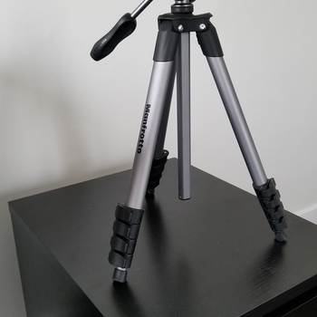 Rent Manfrotto Compact Tripod with 3-Way Head