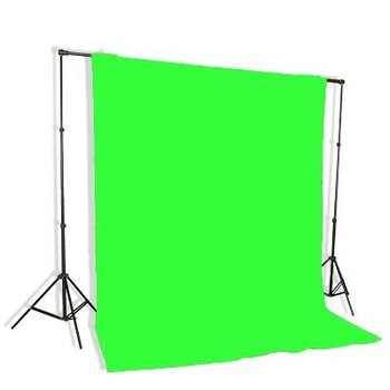 Rent Portable Green Screen 10' x 12' w/ Stand and Clamps