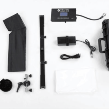 Rent Light Kit w/ Intellytech LC-120 1x3' Foldable LED, 2 Fiilex P360EX and Ice Light 2
