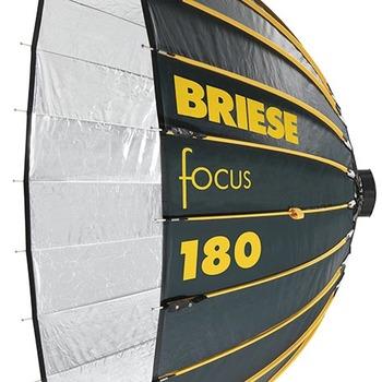 Rent Briese Focus 180 Umbrella / Reflector Strobe Kit - Includes 2x Profoto Packs, bitube, and full + half stop diffusion