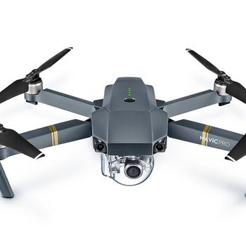 Rent DJI Mavic Pro drone kit Fly More Combo