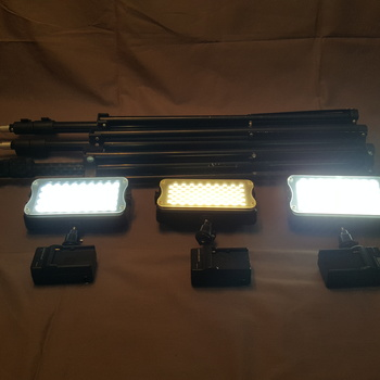 Rent 3 Bi-color LED Lighting Kit