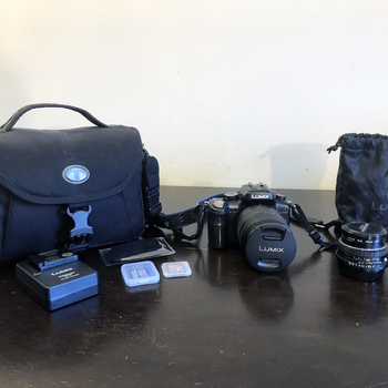 Rent Panasonic GH2 Kit, w/ 14-140mm and 50mm f1.7 lenses