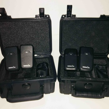 Rent RodeLink Wireless Filmmaker System with Case Kit x2