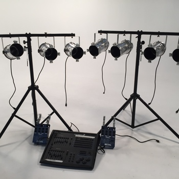Rent 8 Parcan with DMX board