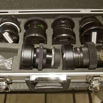 Rent Anamorphic Lens Kit Set of 29mm, 37mm, 58mm, 85mm, 135mm