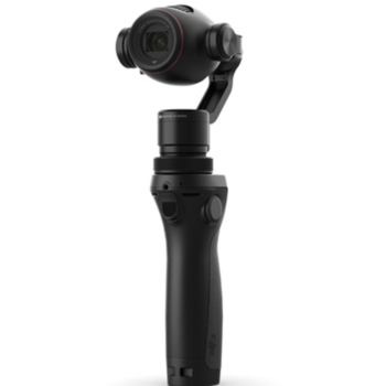 Rent DJI Osmo stabilized camera kit ideal for moving shots