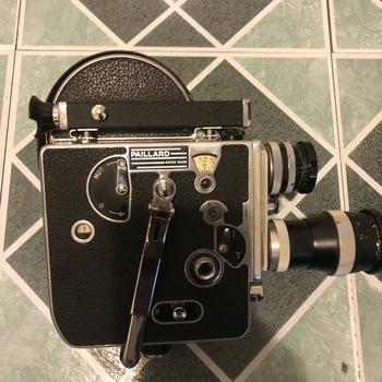 Rent Bolex H16 16mm Camera with Yvar 75mm 25mm 15mm Lens