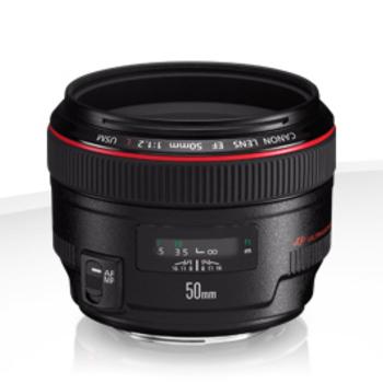 Rent Canon EF 50mm f/1.2L USM Lens Mount EOS EF