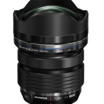 Rent Olympus M Zuiko Pro 7/14mm f/2.8 MTF lens