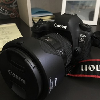Rent Canon 6D Mark II with multiple batteries and canon lenses