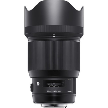 Rent Renowned SIGMA 85mm F1.4 Art
